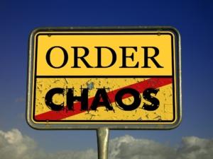 Durch Ordnung Chaos vermeiden